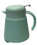 Lafeeca Thermal Coffee Carafe Tea Pot Stainless Steel, Double Wall Blue - $23.45