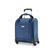 Samsonite Underseat Spinner with USB Port Ocean Travel Luggage Rolling S... - $79.59