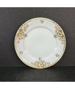 Vintage Nippon Porcelain China Bread Plate Roses with Moriage Gold Made ... - $18.99