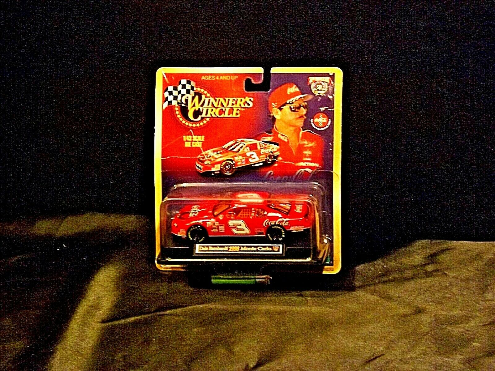 50th Anniversary Card and Match Box Car 1998 AA19-NC8017 Winner's Circle