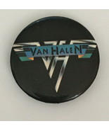 Vintage Van Halen Rock Band Concert Button Pin - $19.99