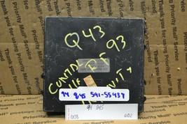 1994-1996 Infiniti Q45 Seat Control Unit 2856567U11 Module 608-6D2 - $55.74