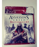 Assassin's Creed Brotherhood PS3 Greatest Hits PlayStation 3 New Sealed ... - $13.86