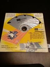"VTG Sears Craftsman Kromedge Hollow Ground Planer 9-32422 7"" Saw Blade (... - $13.79"