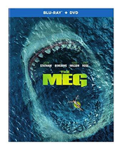 The Meg [Blu-ray+DVD, 2018] - $14.95