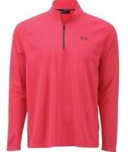 NWT Under Armour Men's Playoff 1/4 Zip Golf T-Shirt- Sz. Medium - $37.62