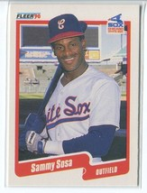 SAMMY SOSA RC 1990 Fleer #548 (NR-MINT) Chicago White Sox Baseball Sport... - $3.25