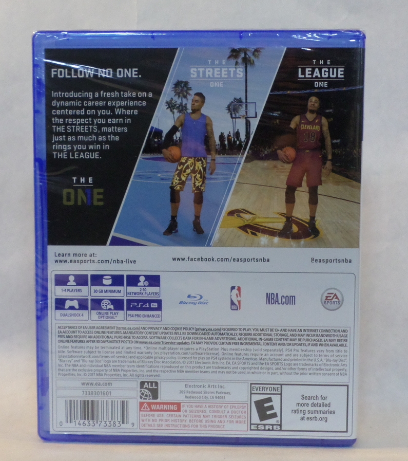NBA Live 18 The Streets The League Video Game for PS4 by EA Sports