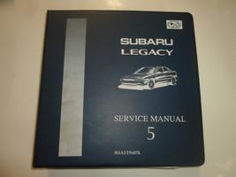 1996 Subaru Legacy Mech & Function Troubleshooting Wiring Service Manual BINDER - $69.25
