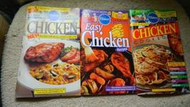 PILLSBURY EASY CHICKEN CLASSIC CHICKEN CHICKEN RECIPE 3 COOKBOOKS FREE U... - $9.49