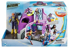NEW! Mattel-DC Super Hero Girls Batgirl & Vehicle Playset (DVG94) - $30.68