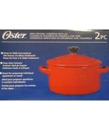 Oster Jr. Casserole Red  NEW - $16.03