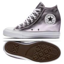 Women's Converse CT All Star Lux Mid Hidden Platform Wedge, 556779C Mult... - $89.95