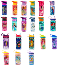 Disney Store Plastic Water Bottle Minnie Jasmine Belle Dory Princess Lio... - $36.95+