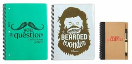 Pack of 3 Notebooks, Religious, Christian Notepads - Lined Pages Wide Ru... - $10.77