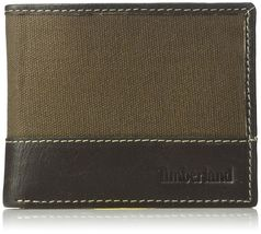 Timberland Men's Leather Credit Card ID Bifold Wallet With Key Fob Gift Box Set image 12