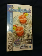 Pool Candy 2-pc. Holographic Glitter Drink Float Set (Silver) - $8.60