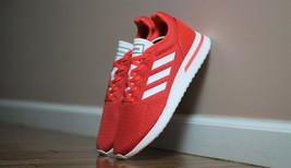 Adidas Men's Size 10.5 Essentials Run70s Running Shoe B96556 Red - $55.00