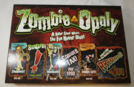 Monopoly Zombie-Opoly Late For The Sky ZombieOpoly box board game Pre Owned - $49.49
