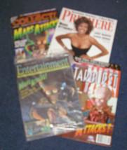 Tim Burton Mars Attacks magazine lot 1990s nightmare before christmas - $15.99