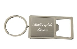 Father of the Groom Gift, Grooms Father Keychain - Bottle Opener Keychain - €10,57 EUR