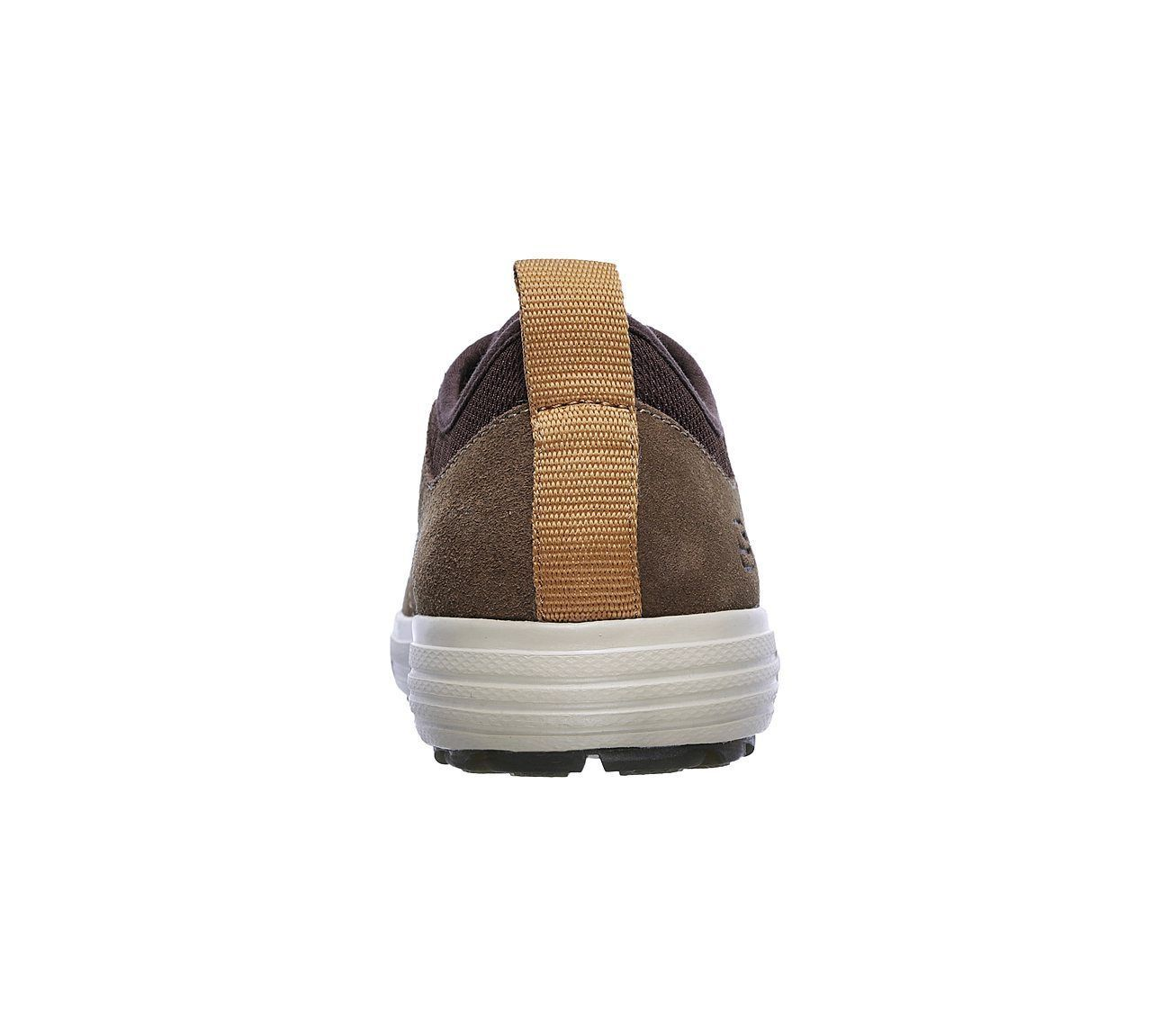 Men's SKECHERS SKECH-AIR: PORTER - ELDEN Casual Shoe, 65141 BGE Sizes 8-14 Beige