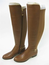 Isaac Mizrahi ~ Leather ~ Stretch ~ Over-the-Knee Boots ~ Size 7.5 ~ Brown - $91.20