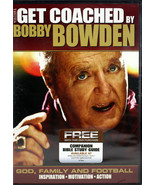 Get Coached By Bobby Bowden NEW DVD God Family Football Inspiration Moti... - $3.95