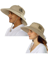 Sun Protection Zone 100SPF/+50UPF Adult Adjustable Unisex Booney Hat - £18.93 GBP
