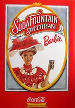 Barbie Mattel Soda Fountain Sweetheart Coca Cole 1st - $34.64