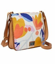 新化石妇女 Preston Canvas Crossbody Bag Floral - $109.99
