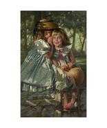 Giggles and Whispers by Bob Byerley Signed Limited Edition Print . - $125.00