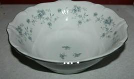 "1 Johann Haviland Bavaria Veg Serving Bowl Small Blue Flowers Blue Garland 8"" - $19.75"