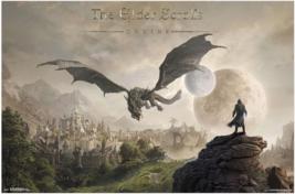 Elder Scrolls Online Elsweyr Poster - $39.00