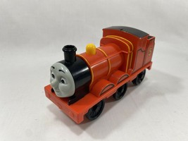 "2011 My First Thomas & Friends Talking James 6"" Red Engine Train Mattel - $14.84"