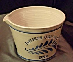 2002 Daviess County Westerwald Pottery Bowl with Pour Spout AA-191824 (1 Piece ) image 6