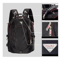 Laptop Backpack 18.4 Inch Large Compartment Dual Zipper Lightweight Free... - $71.86