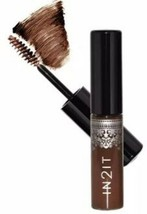 IN2IT Eyebrow Mascara 01 Deep Brown 1's -Vitamin E, for enhanced moistur... - $14.84