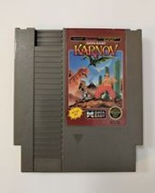 Karnov (Nintendo Entertainment System, 1988) cartridge only/Cleaned/Tested - $8.49