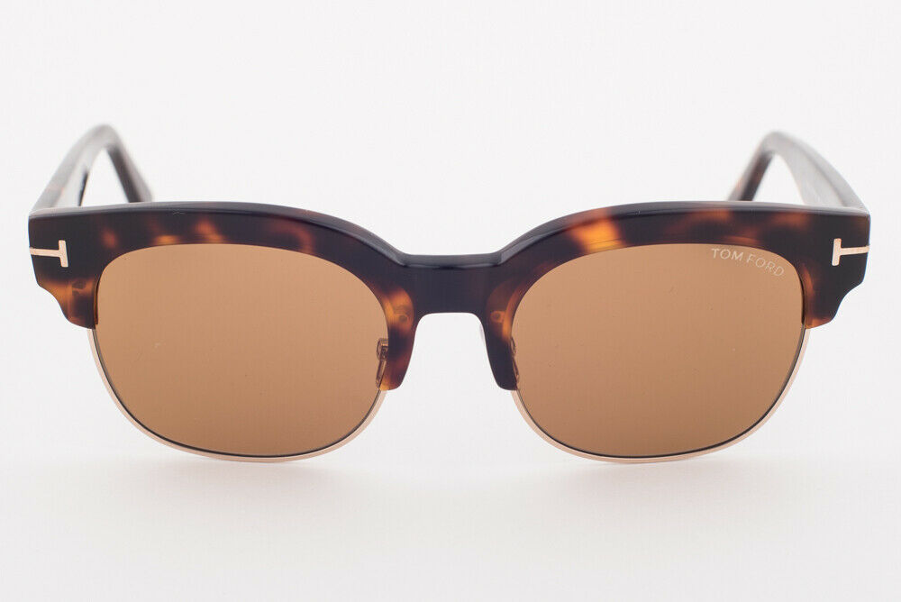 Tom Ford HARRY 597 56E Havana / Brown Sunglasses TF597-56E HARRY-02