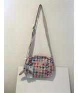 Kipling Wes Printed Crossbody Bag - Color HNDSTOOTHD HB6557  - $60.46