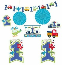 """All Aboard Boy"" Room Decorating Kit, Birthday (1) - $19.31"