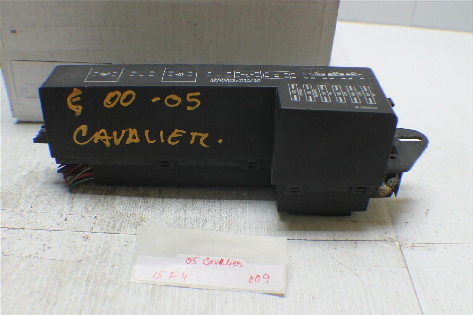 2000-2005 Chevy Cavalier Sunfire Engine Fuse Relay 15355067-B Box 09 15F4 - $24.74