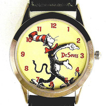 Fossil Made Dr Seuss Cat In The Hat  'Tick Tocking Time Tickers' New Unw... - $147.36