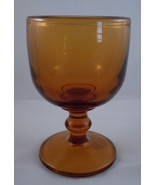 Imperial Hoffman House Amber Wine Glass - $6.30