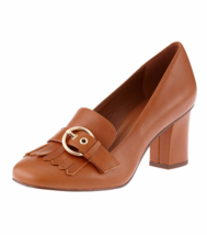 NEW NINE WEST  BROWN LEATHER PUMPS SIZE 8 M $99 - $39.99