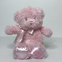 "Gund Baby My First Teddy Bear Small Pink Plush Stuffed Animal 10"" Tall - $18.69"
