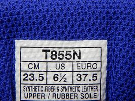Asics GT 2000 v 6 Size US  6.5 M (B) EU 37.5 Women's Running Shoes Blue T855N image 11