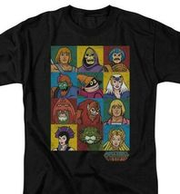Masters of the Universe animated series characters graphic tee He-man DRM225 image 3