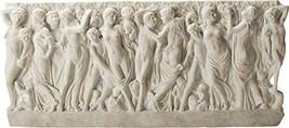 "Ebros Renaissance Revelers Gathering Grapes Wall Plaque Large 19"" Long Resin Fig - $164.99"